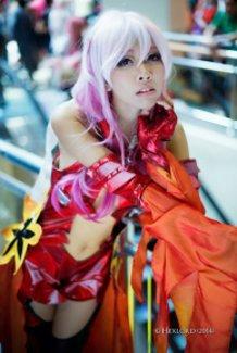inori yuzuriha cosplay