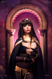 Tharja (Fire Emblem Awakening) Cosplay By Calssara