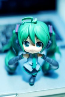 Greetings from Miku