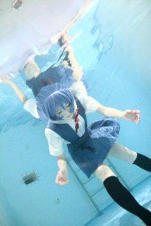 Rei Ayanami  Under Water