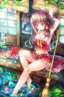 Summer Reimu
