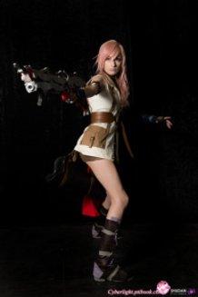Lightning cosplay - Final Fantasy XIII