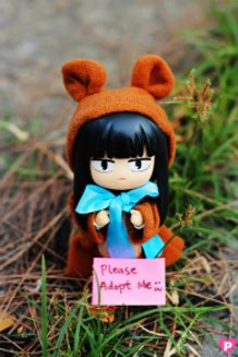 Can someone adopt cute Sawako-chan?