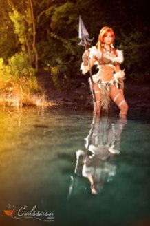 Nidalee ~Leopard Skin~ (League of Legends) Cosplay by Calssara