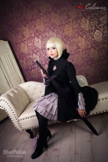 Alter Saber (Fate/hollow Ataraxia) Cosplay by Calssara