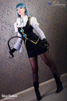 Franziska von Karma (Mei Karuma) Cosplay Phoenix Wright Ace Attorney by Calssara