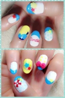 Donald Duck Nails ♪
