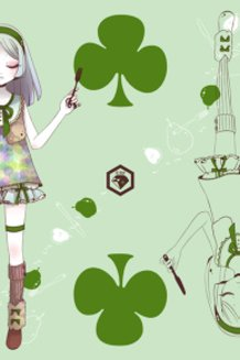 Dining Playing Cards - Clover