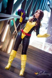 Shadowcat Kitty Pryde (X-men) Cosplay by Calssara (Kotobukiya Marvel Bishoujo version)