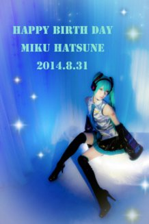 HAPPY BIRTH MIKU !!