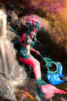 league of legends/Nami[Koi] cosplay