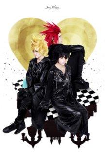 Kingdom Hearts 358/2 Days: Xion, Roxas & Axel