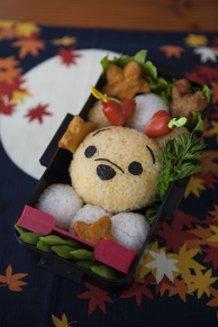 Harvest Moon Pooh-chan < JK Bento