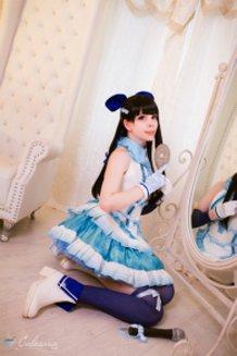 Miyuki Shiba (The Irregular at Magic High School / Mahouka Koukou no Rettousei) Cosplay by Calssara