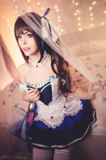 Uzuki Shimamura ~Starlight stage~ (Idol Master Cinderella Girls) Cosplay by Calssara