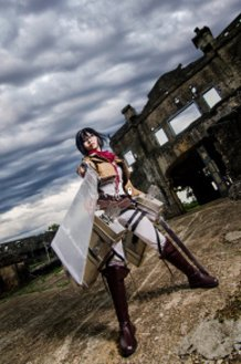 MIkasa: Stand UP SOLDIER!