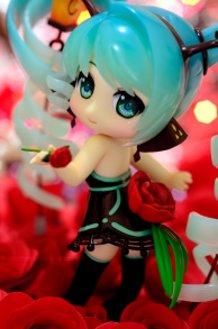 Miku Lamp - Red Rose