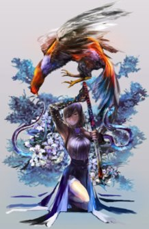 the katana girl