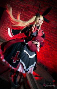 Rachel Alucard (Blazblue) cosplay by Calssara