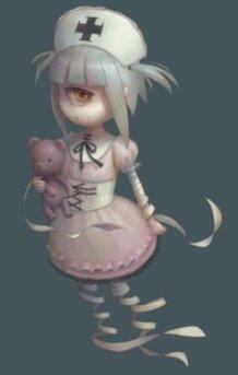 nurse hat ghost