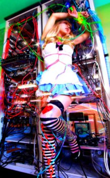"""""""Alice"""" in electric world-A,"""