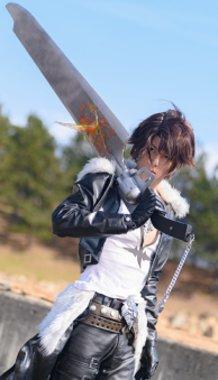 Dissidia Final Fantasy Squall Leonhart