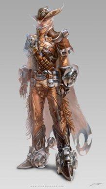 Avatar design (cowboy) male suit