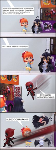 Here Comes Deadpool (Pg 1)