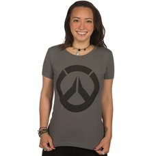 Overwatch Icon Women's Dark Gray T-Shirt