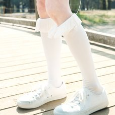 ERIMAKI SOX Fringe High Socks