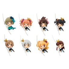 Idolmaster 2nd Stage Cord Mascots