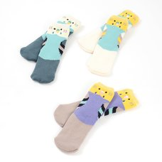KOTORITACHI Marshmallow Budgie Socks