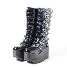 YOSUKE 2015SS Belt Long Boots