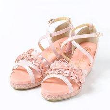 YOSUKE 2015SS Macaroon Frilled Sandals