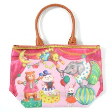 FLAPPER Animal Circus Tote Bag