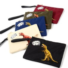 Misfits Dinosaur Clutch Bag