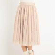 LIZ LISA Long Gathered Skirt