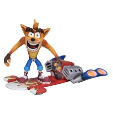 Crash Bandicoot Action Figure Deluxe Ver.