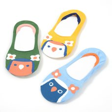 KOTORITACHI Love Bird Low-Cut Socks