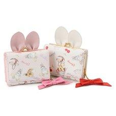 LIZ LISA Picnic Rabbit Mini Wallet