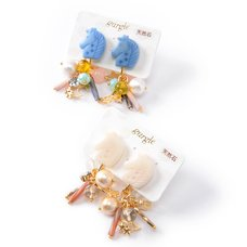 gargle Unicorn Treasure Clip-on Earrings