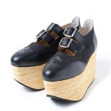 YOSUKE 2015SS Platform Belt Shoes