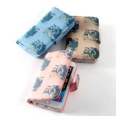 FLAPPER Mofu Neko Book-Style Smartphone Case