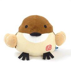 Hannari Tofu Sparrow Cushion