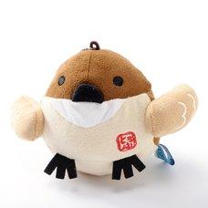 Hannari Tofu Sparrow Mini Plush