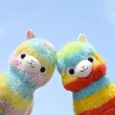 [TOM Exclusive] Double Rainbow Alpacasso Alpaca Plush Pair (Big)