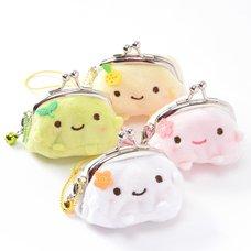 Hannari Tofu Mini Gamaguchi Coin Pouches