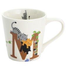 Cat Alphabet Mug