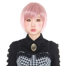Lunatic Lemony Lollipop Street Pink Wig