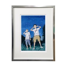 Space Brothers Exhibit Reproduction Art Print #2